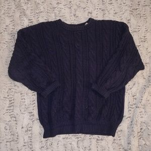 American Eagle | Chunky Blue Sweater -size XL